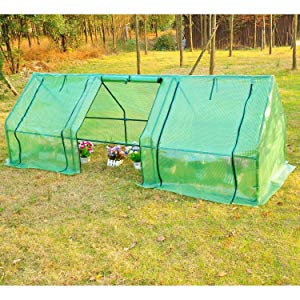 Outsunny Portable Flower Garden Greenhouse