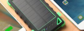 best solar charger for backpacking, camping, hiking and more