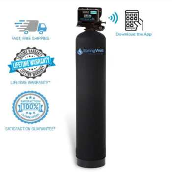 SpringWell well water filtration system